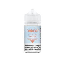 Brain Freeze Naked 100 E-Juice in UAE. Dubai, Abu Dhabi, Sharjah, Ajman - I Vape Dubai
