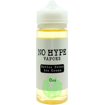 No Hype Vapors - Butter Pecan Ice Cream - 120ml
