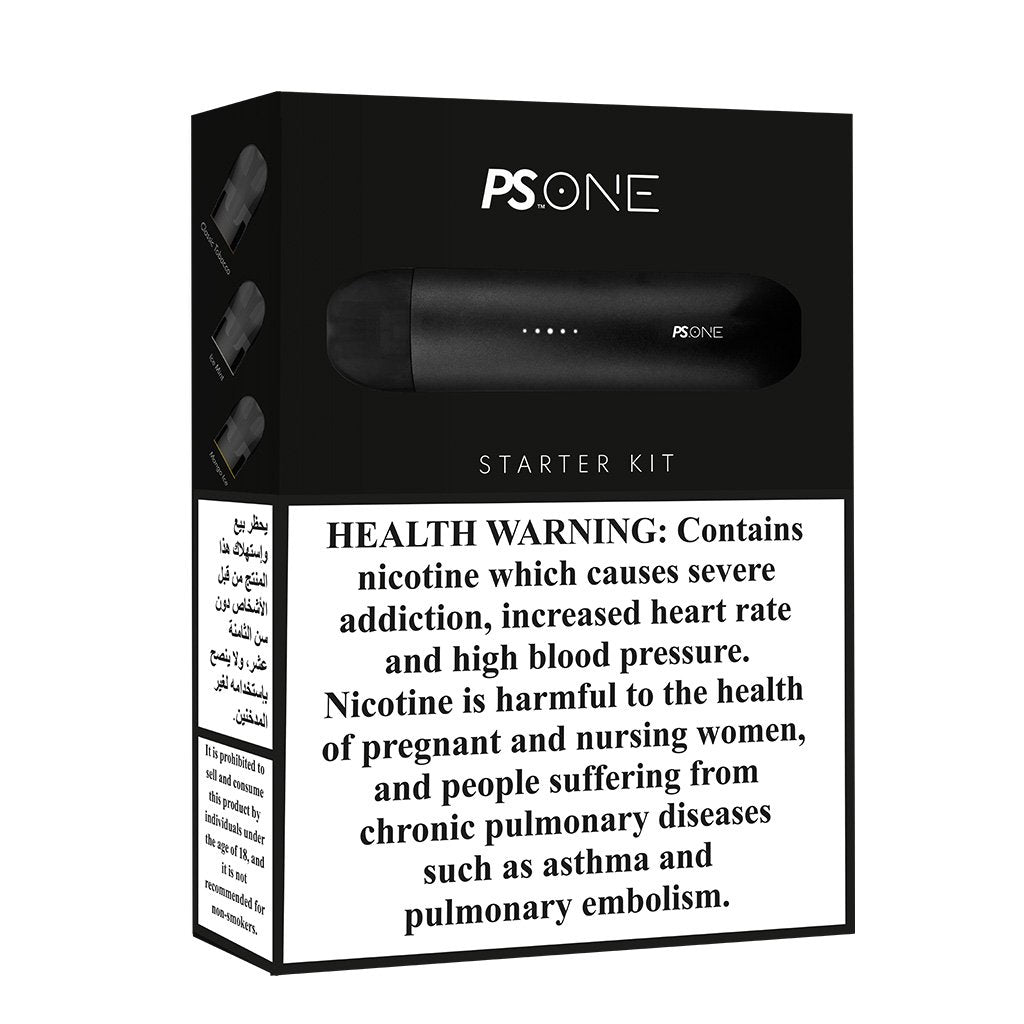 PS One Starter Kit by Pod Salt with 3 Pods - 20mg/ml POD Salt Pod Vapes in UAE. Dubai, Abu Dhabi, Sharjah, Ajman - I Vape Dubai