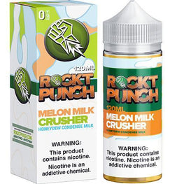 MELON MILK CRUSHER BY ROCKT PUNCH GIANT SIZED E-JUICE - 120ml