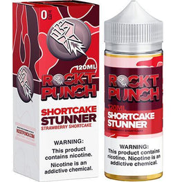 SHORTCAKE STUNNER BY ROCKT PUNCH GIANT SIZED E-JUICE - 120ml