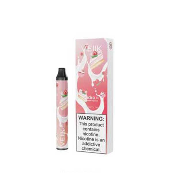Micko Pie - Strawberry Cake VEIIK Disposable Pod Vape in UAE. Dubai, Abu Dhabi, Sharjah, Ajman - I Vape Dubai