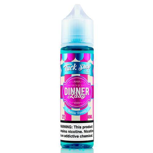 BUBBLE TROUBLE BY TUCK SHOP FROM DINNER LADY-60ML NEW FLAVOUR LINE