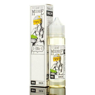 Charlie's Chalk Dust - Meringue & The Family - Vape eJuice - Aunt Meringue - 60ml - ESMA Approved