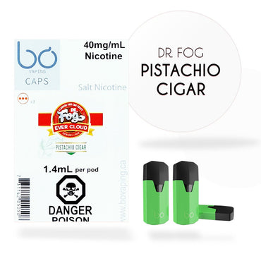 Bo One Pods - Bo One Caps - Dr. Fog - Pistachio Cigar