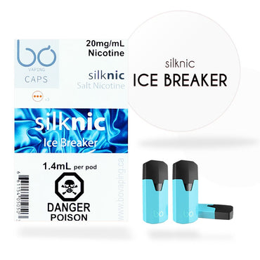 Bo One Pods - Bo One Caps - SilkNic Ice Breaker Strong Mint