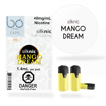 Bo One Pods - Bo One Caps - SilkNic Mango Dream