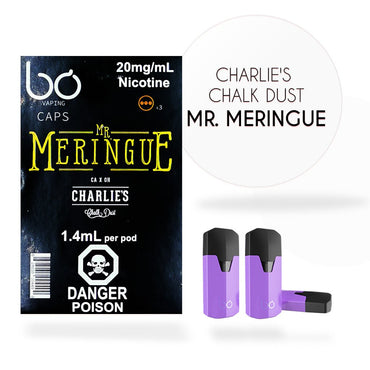 Bo One Pods - Bo One Caps - Mr. Meringue - Charlie's Chalk Dust