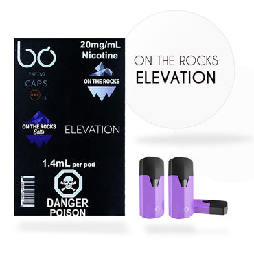 Bo One Pods - Bo One Caps - On the Rocks - Elevation