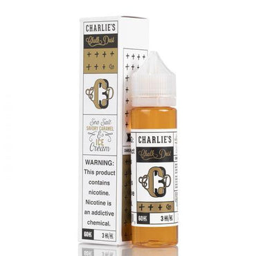 Charlie's Chalk Dust - CCD3 - Vape eJuice - Caramel Ice Cream - 60ml - ESMA Approved