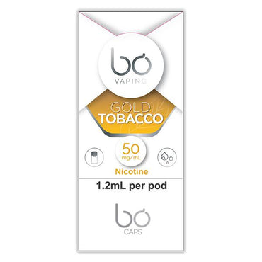 Bo One Pods - Bo One Caps - Gold Tobacco - 1.2ml