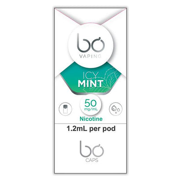 Bo One Pods - Bo One Caps - Icy Mint - Single Pod - 1.2ml