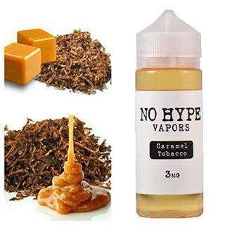 No Hype Vapors - Caramel Tobacco - 120ml