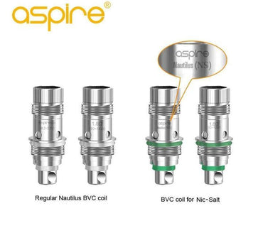 Breeze 3 AIO nautilus BVC coils- 5pcs / pack