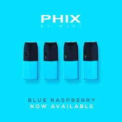 MLV Phix Cartridge Blue Raspberry Pods (Pack of 4)
