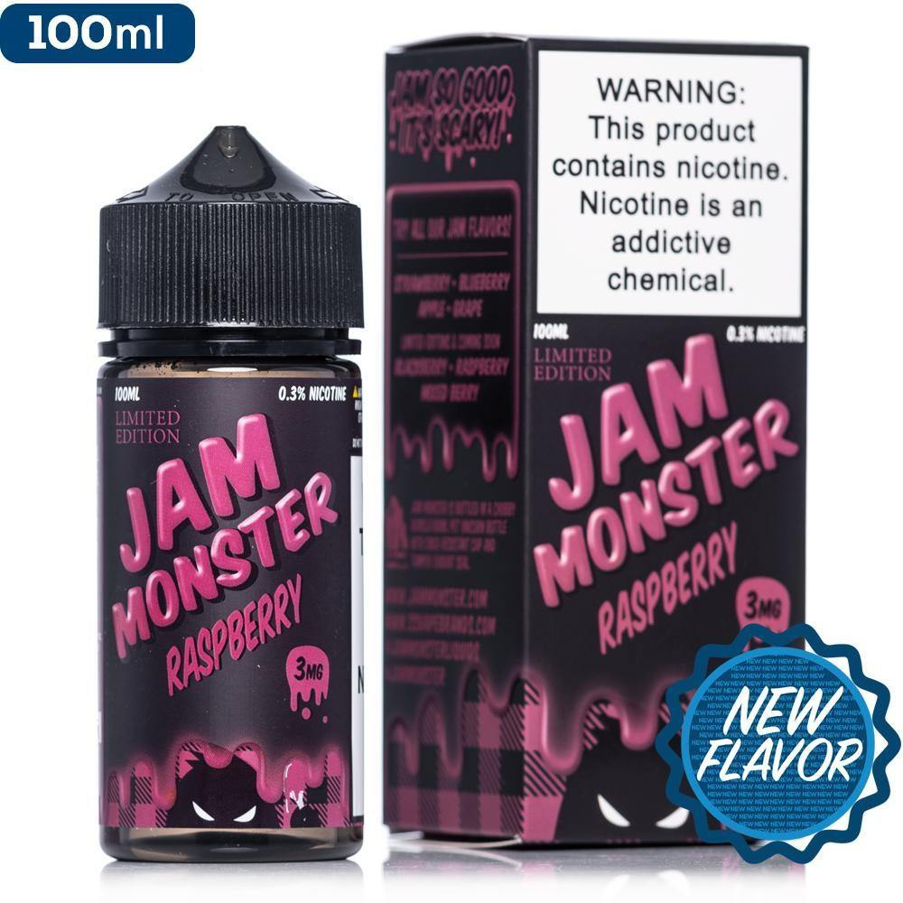 Raspberry Jam Monster E-Juice in UAE. Dubai, Abu Dhabi, Sharjah, Ajman - I Vape Dubai
