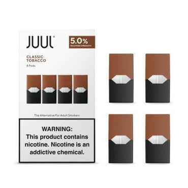 JUUL Pods - Classic Tobacco - 4 Pods / Pack