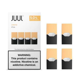 JUUL Pods - Creme brulee is vanilla (American and Russain version)