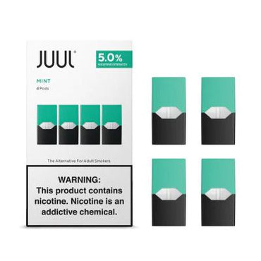 JUUL Pods - Mint - 4 Pods / Pack