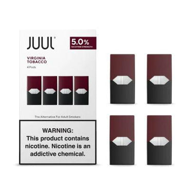 JUUL Pods - Virginia Tobbaco - 4 Pods / Pack