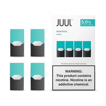 JUUL Pods - menthol - 4 Pods / Pack USA packed