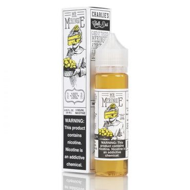 Charlie's Chalk Dust - Meringue & The Family - Vape eJuice - Mr. Meringue - 60ml - ESMA Approved