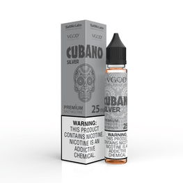 VGOD and SaltNic eJuice -Cubano silver salted - 30ml