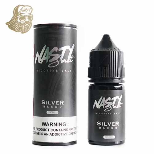 Nasty - NIC Salts - Silver Blend - 30ml