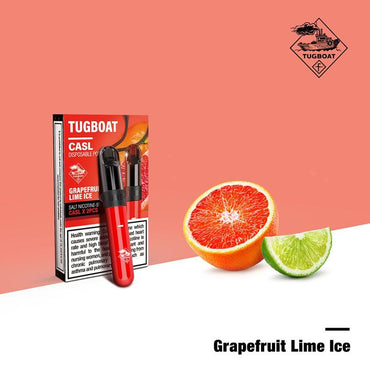 Tugboat V4 (CASL) - Grapefruit Lime Ice -  Disposable Vape Devices