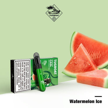Tugboat V4 (CASL) - Watermelon Ice -  Disposable Vape Devices