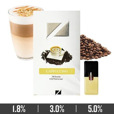 ZIIP Pods - ZPods Cappuccino - 4 Pods / Pack