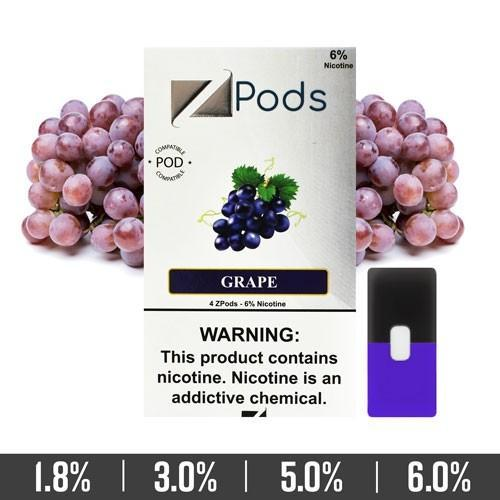 ZIIP Pods - ZPods Grape - 4 Pods / Pack