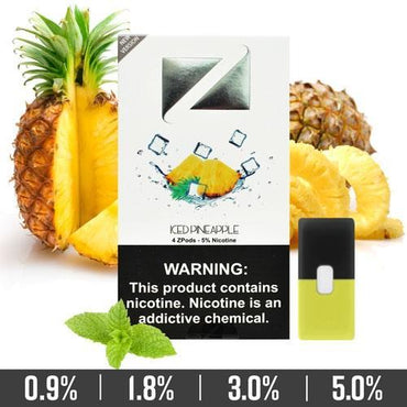 ZIIP Pods - ZPods Iced Pineapple - 4 Pods / Pack