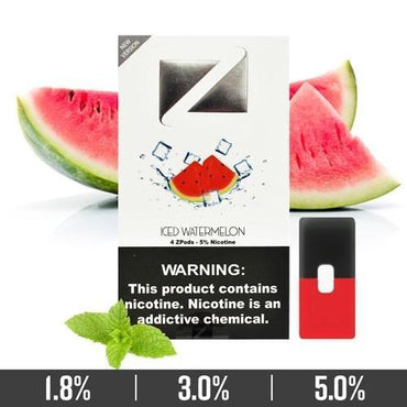 ZIIP Pods - ZPods Iced Watermelon - 4 Pods / Pack