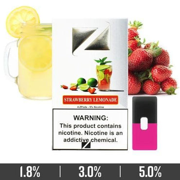 ZIIP Pods - ZPods Strawberry Lemonade - 4 Pods / Pack