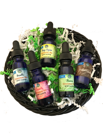 Essential Oil Blends Starter Set