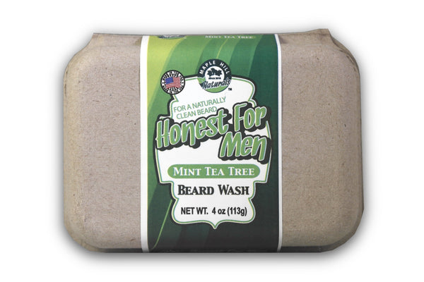Honest For Men Mint Tea Tree Oil Beard Wash