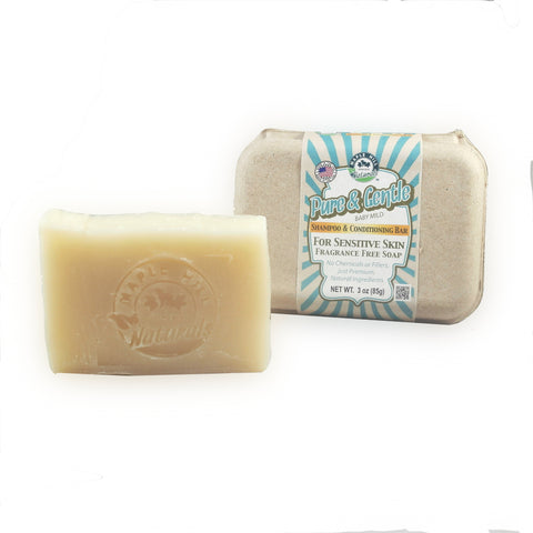 Pure and Gentle Shampoo Bar