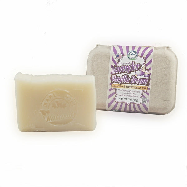 Lavender Vanilla Dream Shampoo Bar