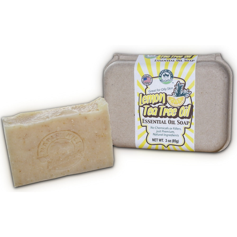 Lemon Tea Tree Essential Oil Soap