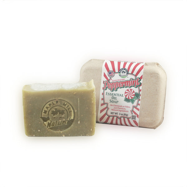Peppermint Essential Oil Soap
