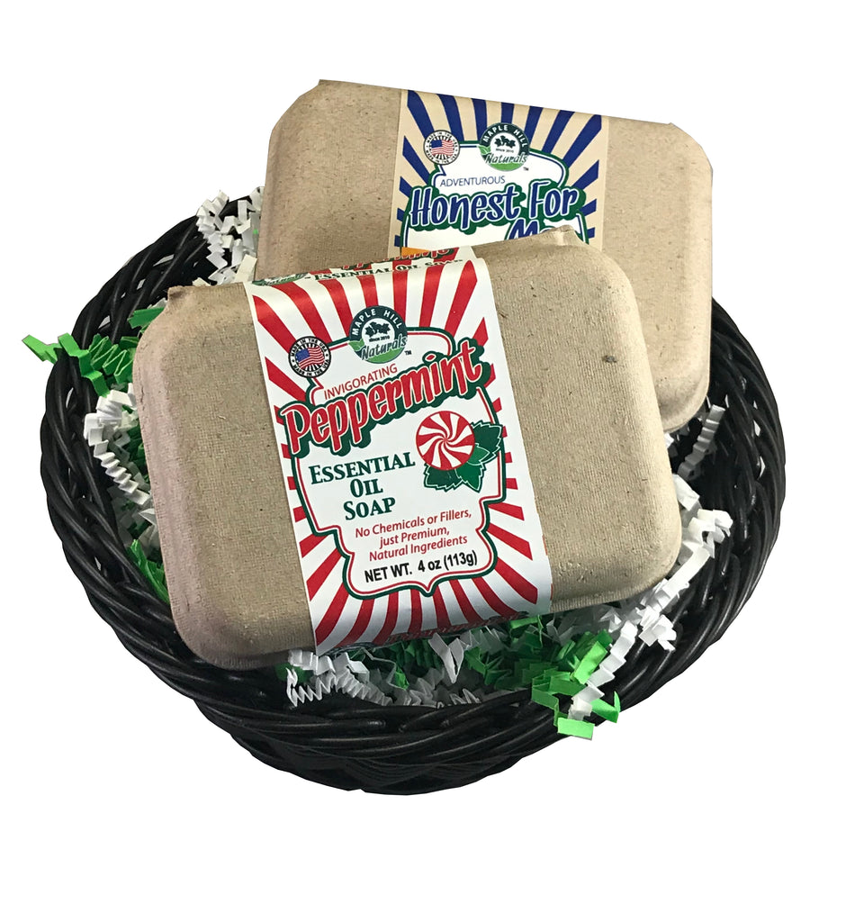 Small Soap and Shampoo & Conditioner Gift Basket