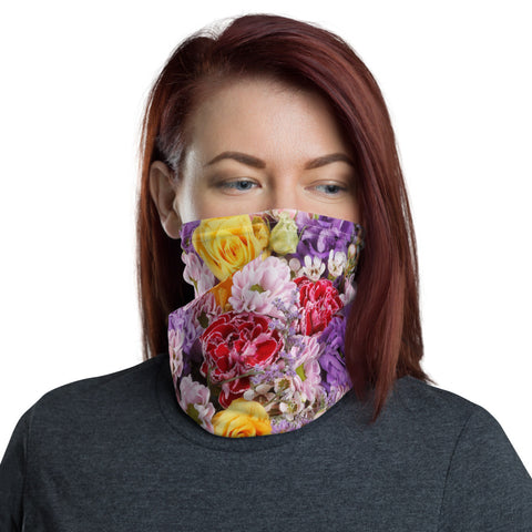 Bouquet Neck Gaiter Face Shield