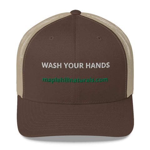 Wash Your Hands Trucker Cap