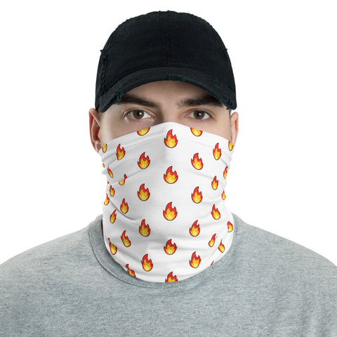 On Fire Neck Gaiter Face Shield