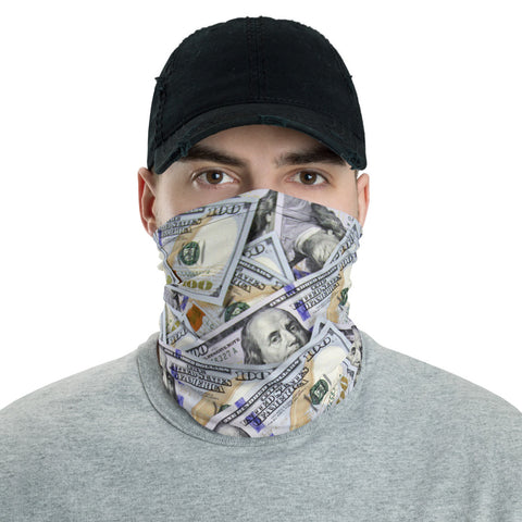 Cash Neck Gaiter Face Shield