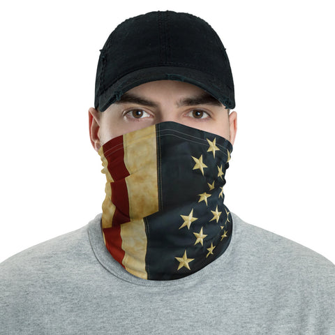 Old Glory Neck Gaiter Face Shield
