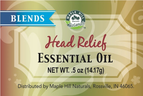 Head Relief Essential Oil Blend