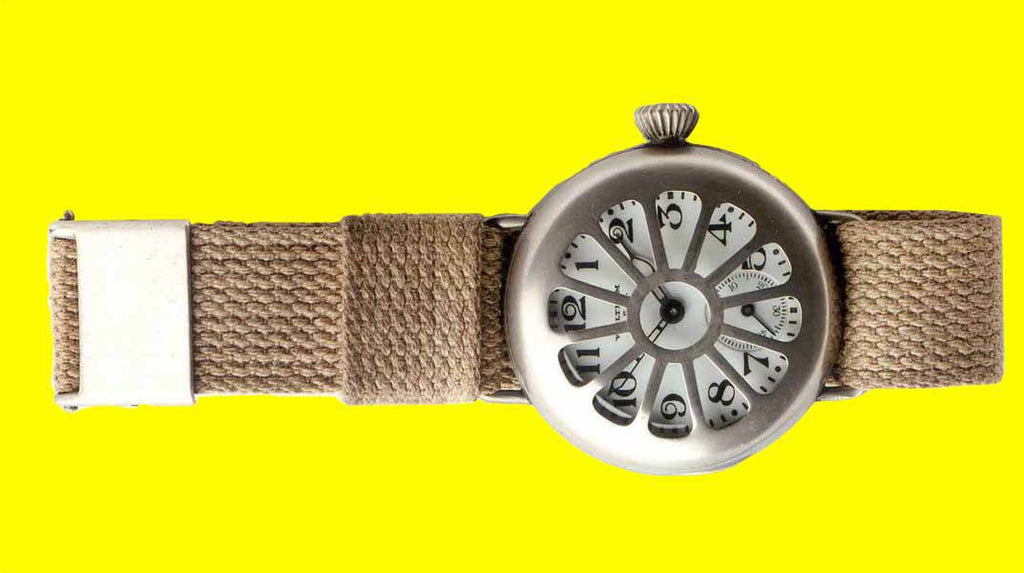 A Brief History of the Wristwatch.