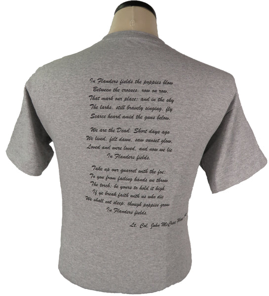 The Flanders Fields Shirt short sleeve t-shirt
